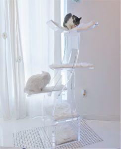 luxury cat tower